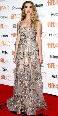 Toronto Film Festival 2015: Amber Heard in an Elie Saab dress