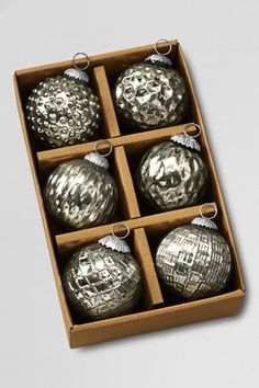 new Mercury glass ornaments. z