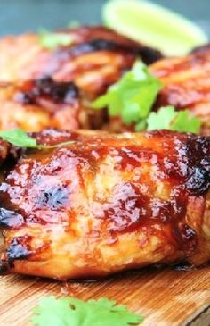 Low FODMAP Recipe and Gluten Free Recipe - Maple Glazed Chicken