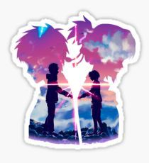 Kimi No Na Wa stickers featuring millions of original designs created by independent artists. Name Stickers, Laptop Stickers, Kimi No Na Wa, Japanese Aesthetic, Kawaii Wallpaper, Manga Games, Sticker Design, Planner Stickers, Emoji