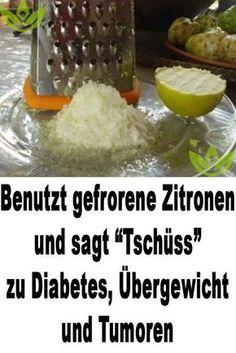 """Benutzt gefrorene Zitronen und sagt """"Tschüss"""" zu Diabetes, Übergewicht und Tumoren"""