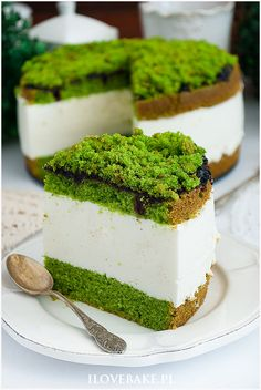 Ciasto szpinakowy serek