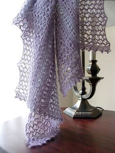 Twilight & Mist Shawl pattern by Alla Saenko