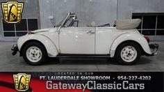 1976 Volkswagen Super Beetle Convertible  $20,600