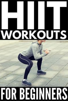 Whether you work out at home or at the gym these HIIT workouts for beginners will help you burn more calories in less time. A combination of cardio weights and quick effective exercises weve rounded up 10 fat burning high intensity interval training Marathon Training, Cardio Training, Mental Training, Training Exercises, Fitness Workouts, Hiit Workout At Home, At Home Workouts, Cardio Workouts, Tabata