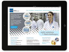Website UI design for a #b2b manufacturer. #internationalmarketing #design #ui #webdesign by Raison (http://www.raisonbrands.com)