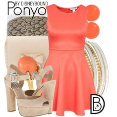Ponyo by leslieakay on Polyvore featuring Steve Madden, Charlotte Russe, Jennifer Lopez and Bling Jewelry