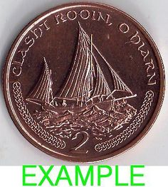 Iom isle of man manx 2000 - 2003 2p manx #lugger #fishing boat in sealed #wallet,  View more on the LINK: http://www.zeppy.io/product/gb/2/151797360959/