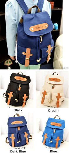 803d914a88 Retro College Style Lovely Backpacks for big sale!  backpack  bag  rucksack