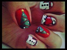 ✝☮✿★ CHRISTMAS NAIL ART ✝☯★☮
