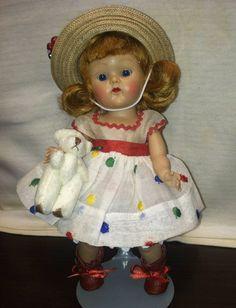 "VOGUE GINNY DOLL   ""Ginger""  # 64  Debutante Series  (1952) Minty!! #Dolls"