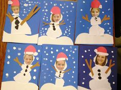 BC winter / kikker in de kou Holiday Crafts For Kids, Preschool Christmas, Noel Christmas, Christmas Activities, Christmas Labels, Christmas Cards, Snow Much Fun, K Crafts, Snowman Crafts