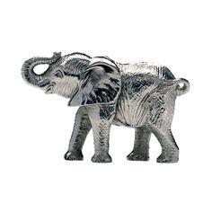 Patrick Mavros Small Silver Elephant Calf Sculpture Small Elephant, Elephant Love, Elephant Sculpture, Lion Sculpture, 20 Month Old, African Sculptures, Human Behavior, Elephants, Calves