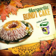 Give your guests a tasty treat to complete their Thanksgiving feast! Find recipe here: http://www.ontheborderproducts.com/recipes/dessert/margarita-bundt-cake/
