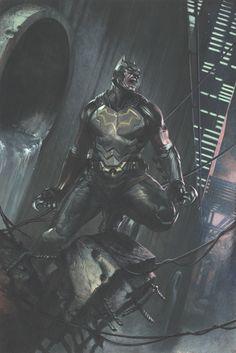 Marvel Dc Comics, Hero Marvel, Marvel Vs, Dan Mora, Comic Book Characters, Comic Books, Fanart, Arkham Knight, Batman The Dark Knight
