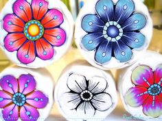 New Polymer Clay Flower Canes Update