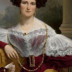 Portrait of Alida Christina Assink, Jan Adam Kruseman, 1833 - Search - Rijksmuseum