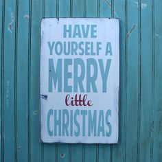 cute sign for christmas