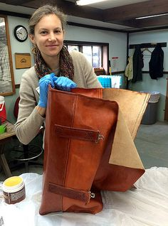 Leather Crafting with Donna Wiggins | by John C. Campbell Folk School