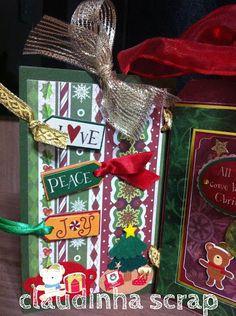 Oficina da Claudinha: PAP - Enfeite de Natal
