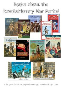 Beautiful narratives that inspire kids to learn about the Revolutionary War! Study History, Us History, History Books, American History, Ancient History, British History, Native American, History Class, History Activities
