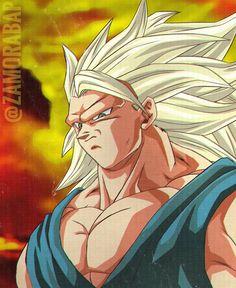 Goku By: Zamorabap Goku Af, Son Goku, Dbz, Dragon Ball Z, Ssj3, Artist Names, Anime Art, Hero, Fan Art