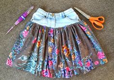 Shorts to a skirt