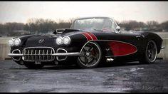 Amped up '57 Corvette…