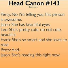 leo valdez headcanon - I read it till the end and then I laughed to myself :)