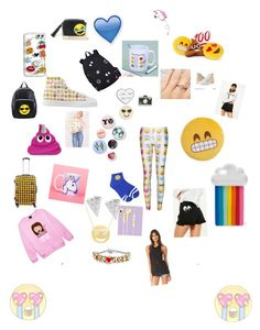 """""""Emoji 😍"""" by moza-alali on Polyvore featuring LAUREN MOSHI, Throwboy, Bing Bang, WithChic, Madewell, Design Lab, Missguided, Terez, STELLA McCARTNEY and Amanda Rose Collection"""