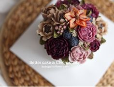 . . Done by my student - Beanpaste rice flower cake ( Advance class ) . . -BETTER CAKE & CHICME CAKE- @better_cake_2015 & @chicme_cake . . .  Any inquiries about BETTER CLASS, Plz contact me through LINE or Email. Mailbettercakes@naver.com Linebetter_cake FacebookBetter Cake Kakaotalkbettercake  #buttercream#cake#베이킹#baking#bettercake#like#버터크림케익#베러케이크#cupcake#flower#꽃#sweet#플라워케익#koreabuttercream#wilton#앙금플라워#디저트#buttercreamcake#dessert#버터크림플라워케이크#follow#떡케익#koreancake#beau...