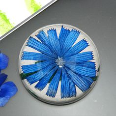 John Derian chicory glass paper weight #Designersguild #dreambedroom