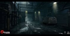 ArtStation - Gears of War: Ultimate Edition - Act 3 Environment Concepts , Adam Baines
