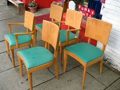 Heywood Wakefield C155 chairs, sold at Mountain Lights in Asheville!