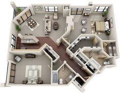2 Bedroom | 2 Bathroom Starting at $3,000 1,710+ sq. ft.