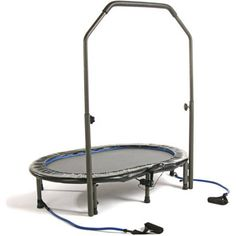 Stamina Trampoline InTone Oval Jogger, with Handlebar, Black Trampoline With Handle, Trampoline Workout, Low Impact Cardio Workout, Workout Tips, Workout Gear, Fitness Monitor, Aerobics Workout, Personal Fitness, Exercises