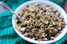 Can't stop eating this Blueberry Pistachio Granola!