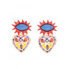 EARRING WITH CRYSTALS - BIMBA Y LOLA