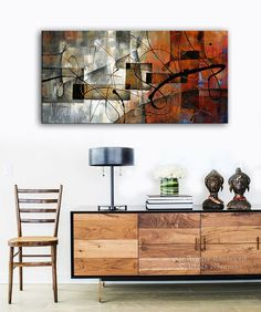 Wings of Destiny Print Interior decor by Paula ready to hang earth color pallete Abstract Expressionism, Abstract Art, Interior Design Living Room, Interior Decorating, Sell My Art, Free Museums, Colour Pallete, Handmade Art, Decoration