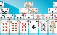 7 Jugar Solitario Pirámide Ideas Pyramid Solitaire Solitaire Games Pyramids