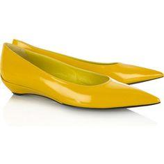 <3 #yellow #flats $85