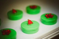 Cute Chocolate Covered Oreo's from this Ronald McDonald House Christmas Party with Lots of Cute Ideas via Kara's Party Ideas KarasPartyIdeas.com #christmas #christmasparty #holiday...