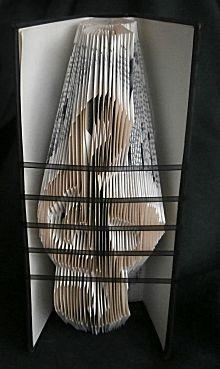 Uit de categorie Vouwen het knutselidee Boekkunst 9 - Voorbeelden en downloads