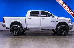 """2014 Dodge Ram 1500 Outdoorsman Edition 4x4 Truck For Sale with New 6"""" Fabtech Lift and Moto Metal Rims 