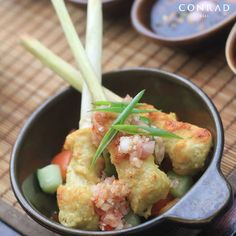 Set aside time at Conrad Bali to try out the resort's multiple restaurants and authentic cuisine.