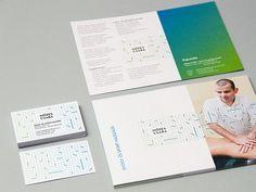 Csaba Mózes - the blind masseur / by Péter Serfőző of Budapest-based Zwoelf/ identity / branding / braille design / business card