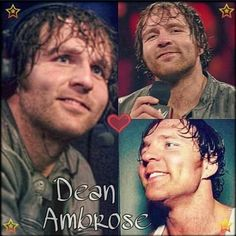 No one likes me but me and myself - Jon Moxley. His dimples are so sexy!