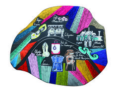 #citymap #paris #myparis #embroidery #embroideryart #madeinfrance #madetoorder #custommade #custom #soeurparis  #museerodin #inesdelafressange #lebonpourcain #audreydemarre #galignani #cafemuscade #rogervivier #mussecarnavalet Rodin, Roger Vivier, Embroidery Art, Ants, Muse, Cross Stitch, Kids Rugs, Photo And Video, How To Make