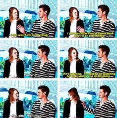 When Andrew gushed over anything that Emma does: | 26 Times Emma Stone And Andrew Garfield Spread Their Perfection All Over The World. I love these two.