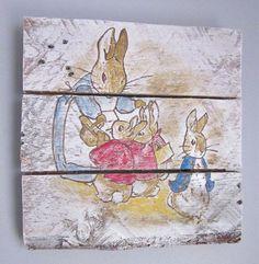 Peter rabbit and friends beatrix potter wallpaper border - Peter rabbit nursery border ...
